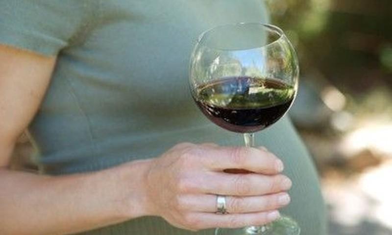 Nėštumas be alkoholio lašo!
