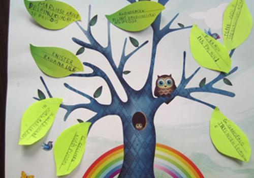 Auginkite su vaikais savo knygų medį