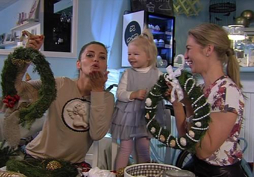 TV Mamyčių klubas 2014 12 13: kalėdinis vainikas, žolelių arbatos ir mamos šypsena