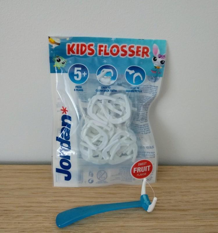 Pabandėm vaikų dantų siūlą