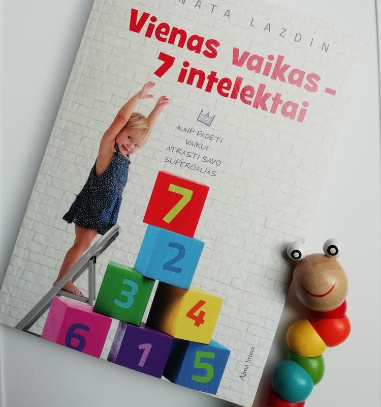 """Knyga """"Vienas vaikas - 7 intelektai"""""""