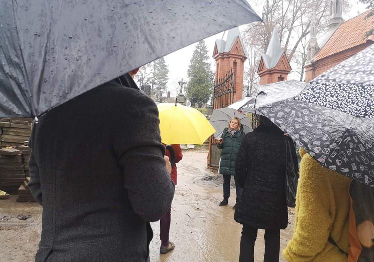 Ekskursija į istorines kapines