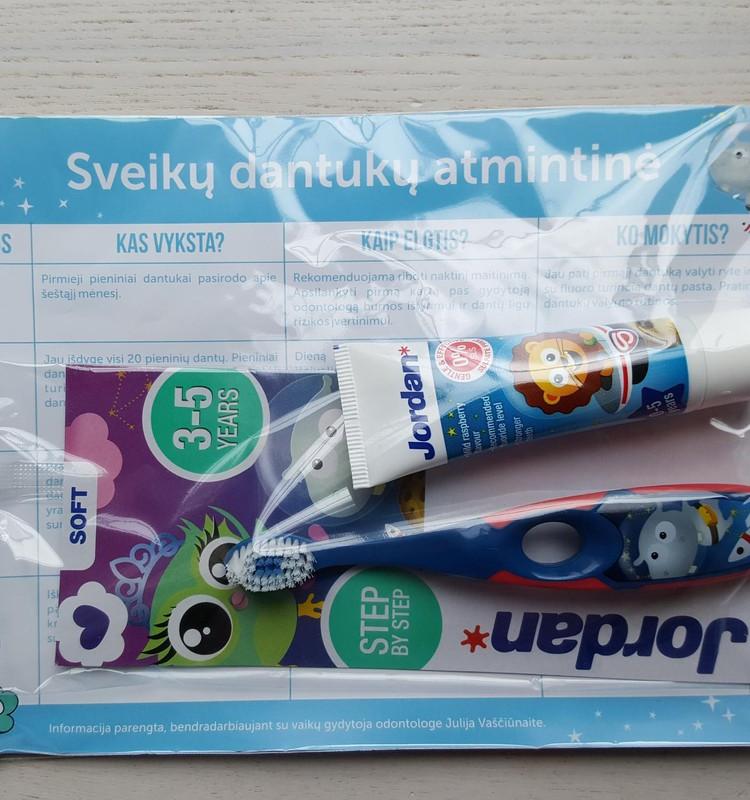 Pažintis su JORDAN dantukų priežiūros priemonėmis