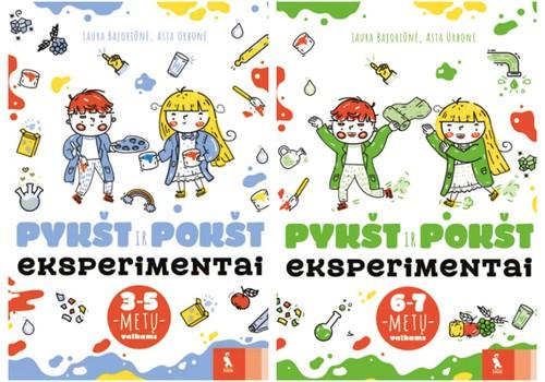 "Kas laimi 2 eksperimentų knygas ""PYKŠT ir POKŠT""?"