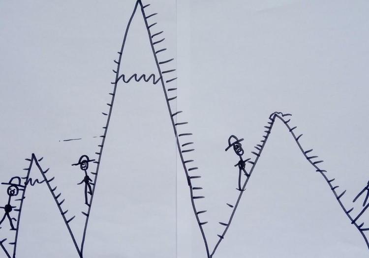 Kaip namuose atsirado 18 kalnų. Arba linkėjimas Naujiems metams