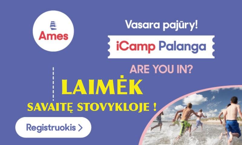 Laimėk vaikui kelialapį į AMES anglų kalbos ir aktyvaus poilsio vasaros stovyklą!