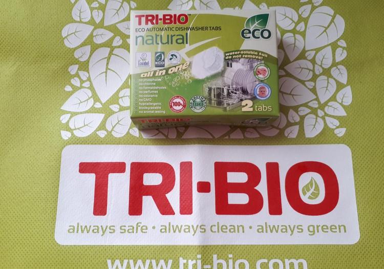 Testuoju TRI-BIO produkciją - EKO indaplovių tabletės.