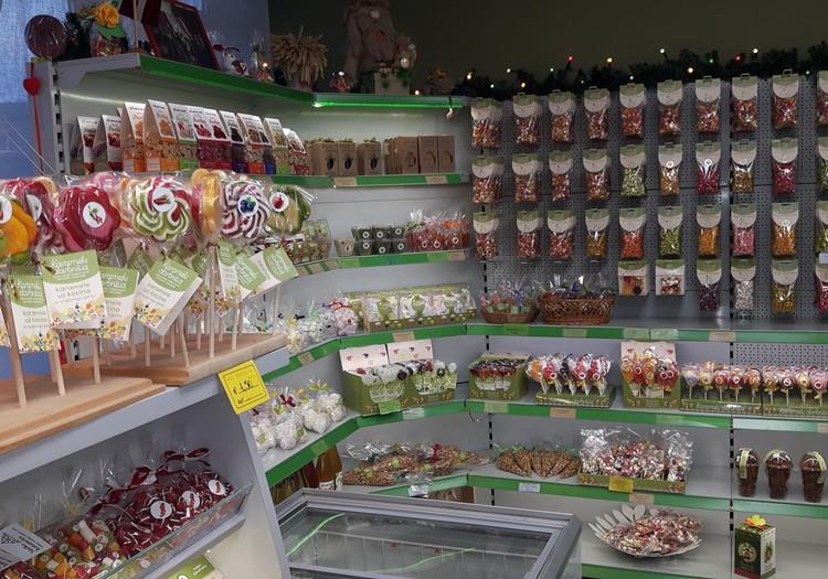 """Karamelės rojuje (""""Karamelu darbnica"""", Latvija)"""