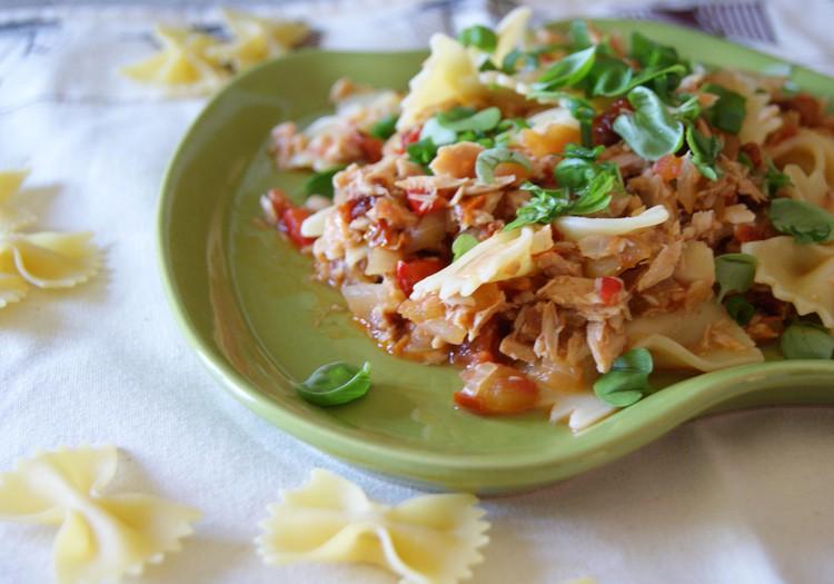 Receptų blogas: makaronai su tunu