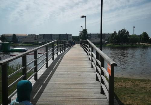 Vasaros gidas: Širvintų paplūdimys ir vandenlenčių parkas Wakeink