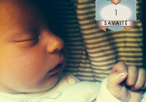 1 Olivijos savaitė: vaikas su lėktuvo bilietais