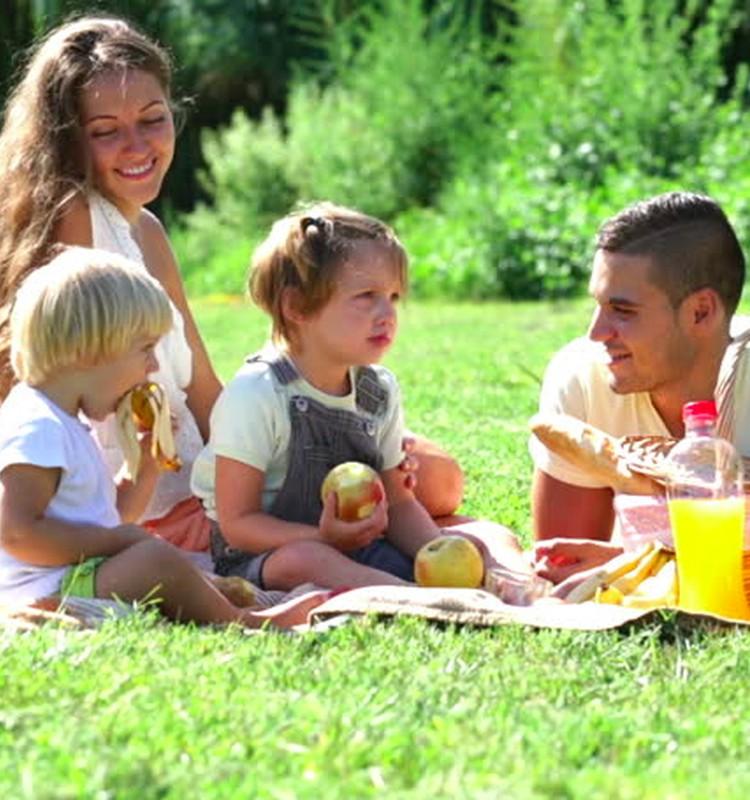 5 sveiki užkandžiai šeimos iškylai
