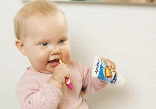 Kasdienė vaiko dantų priežiūra