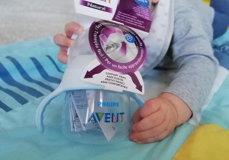 Philips Avent naturals buteliukas - gertuvė