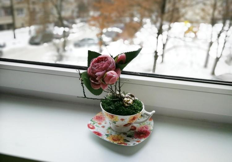 Gal puodelio gėlių?