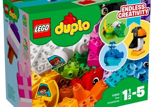 Konkursas FB: Laimėk LEGO Duplo rinkinį mažyliui!