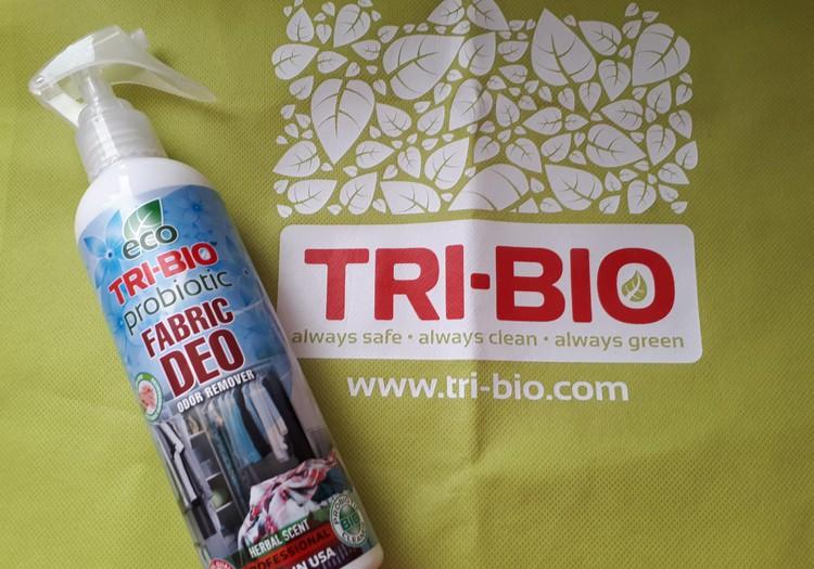 Testuoju TRI-BIO produkciją - Audinių BIO dezodorantas.
