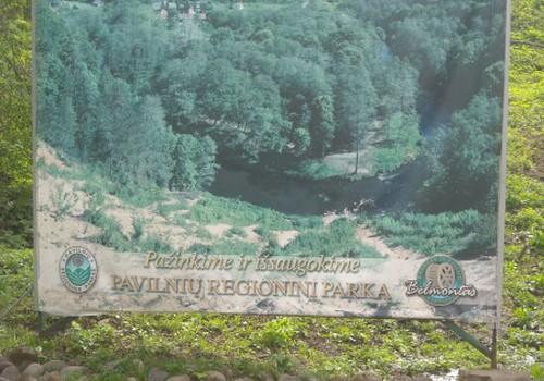 Pasivaikščiojimas po Pavilnių regioninį parką