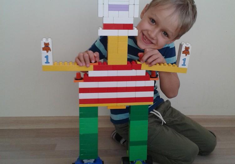 Antanukas - robotų meistras