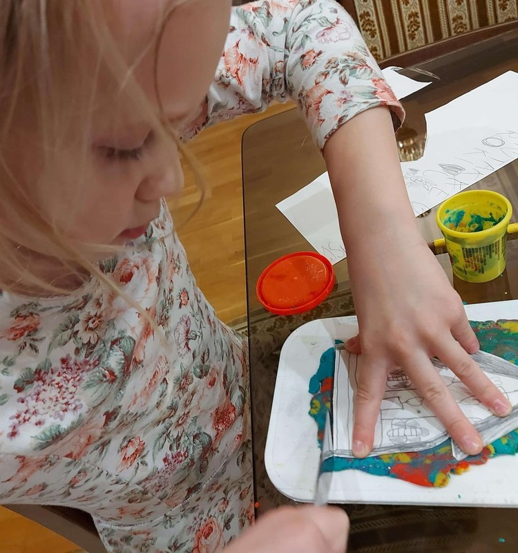 Augustės dienoraštis: dailės mokykla - nuotoliniu būdu