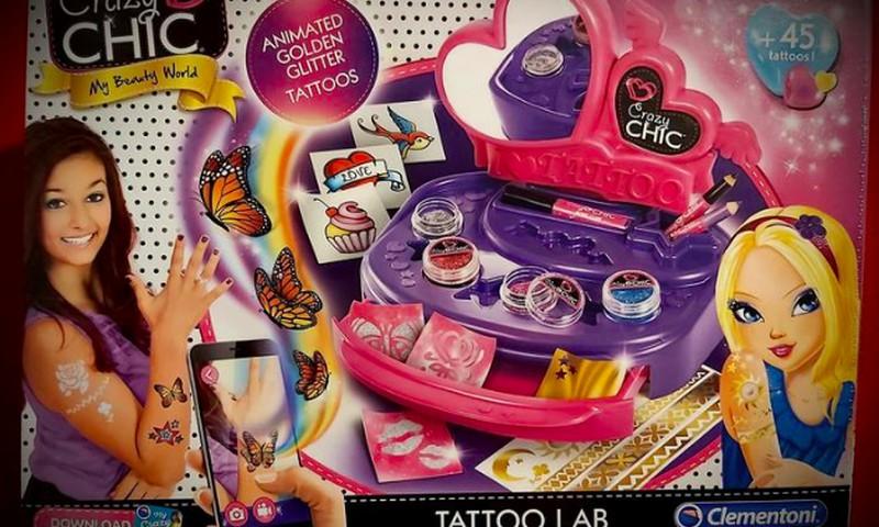 """Mergaičių džiaugsmui - ,,Clementoni Tattoo Lab""""!"""