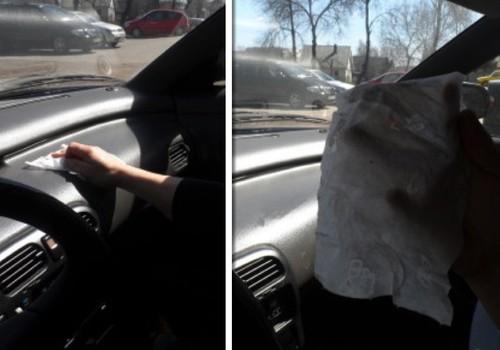 Drėgnos servetėlės tinka ir autosalonui valyti :)