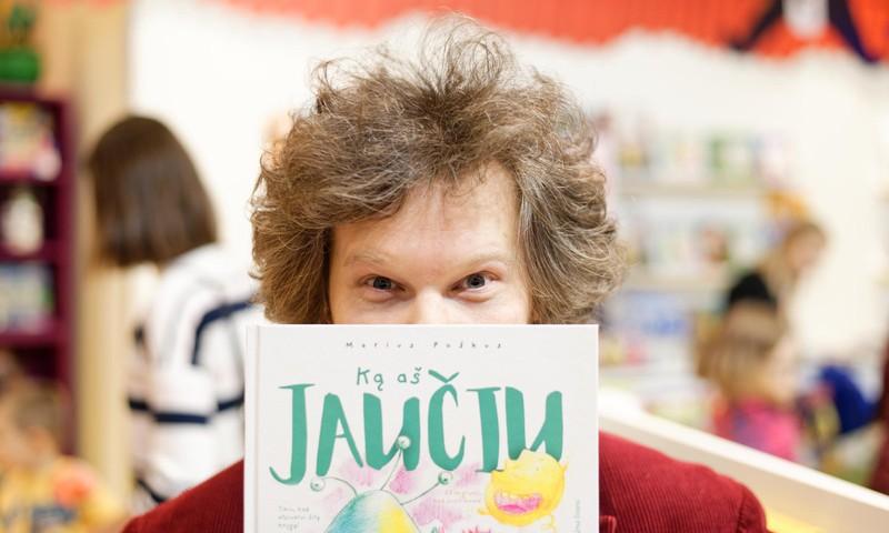 """Pažintinės knygos vaikams ir paaugliams autorius MariusPoškus: """"O ką su tais jausmais daryti?"""""""