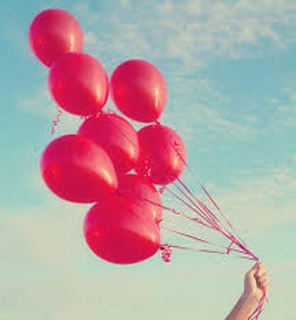 Raudonas balionėlis