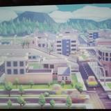 Miestas vaikų spalvintu transportu