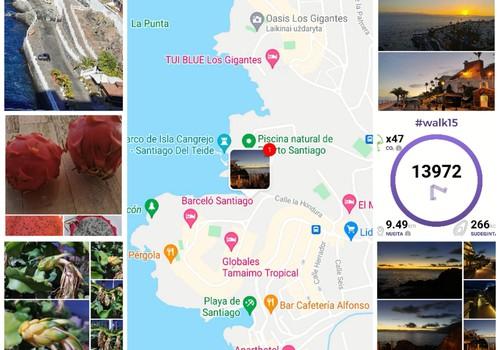 Vasaros gidas: Puerto de Santiago promenada
