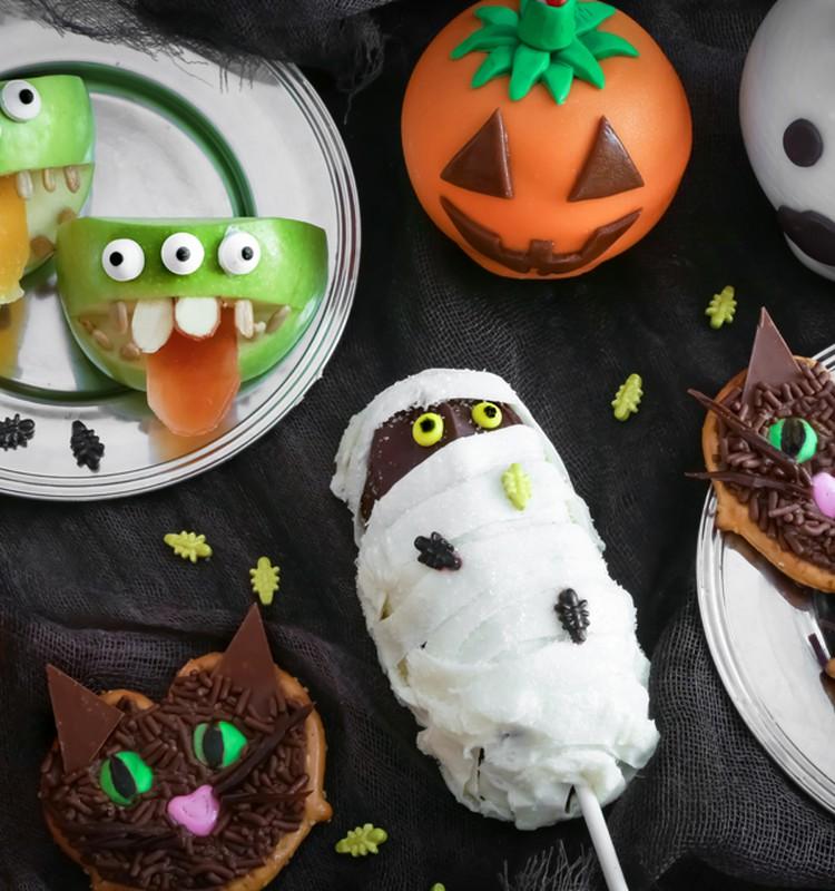 Helovino šventės užkandžiai ir desertai: mamų idėjos