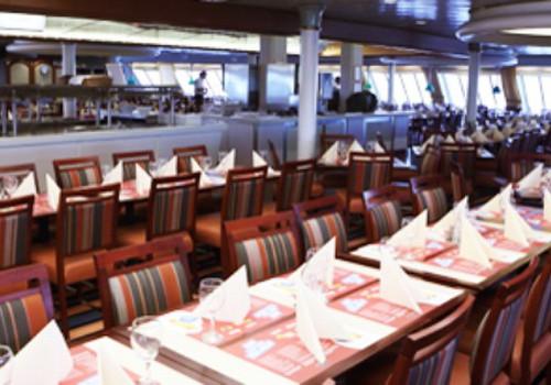 Kur galima pavalgyti laive M/S Isabelle?