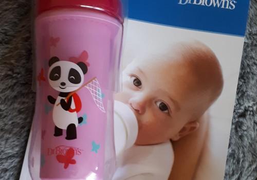 DR. BROWN'S gertuvė su kietu snepeliu kūdikiui nuo 12 mėnesių