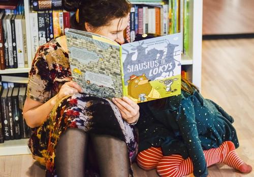 Šeimos laikas skaitant: knyga ne tik ugdo, bet ir padeda sustiprinti ryšį su vaiku