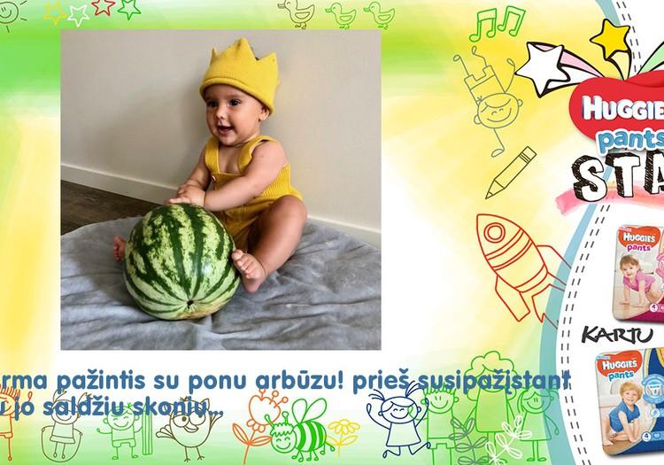 Pažintis su ponu arbūzu!