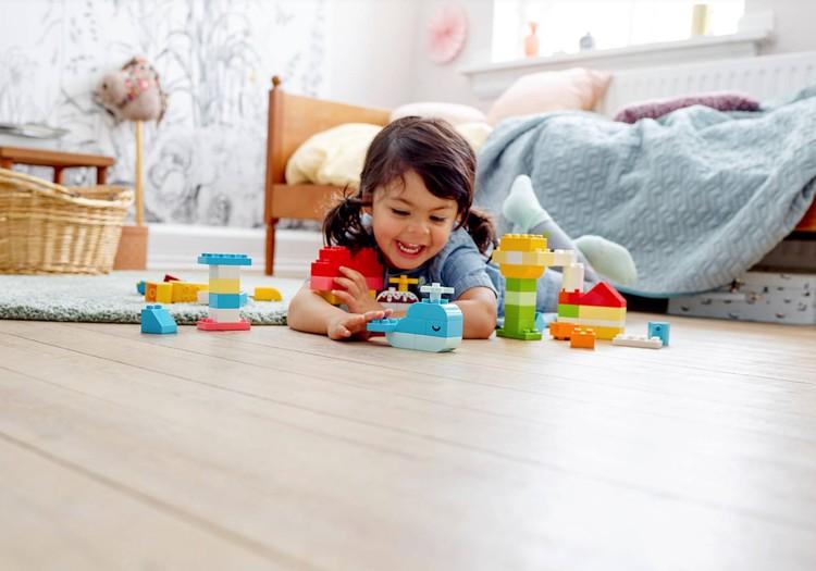 Parodykite savo vaiko fantazijų pasaulį ir laimėkite LEGO® DUPLO®!
