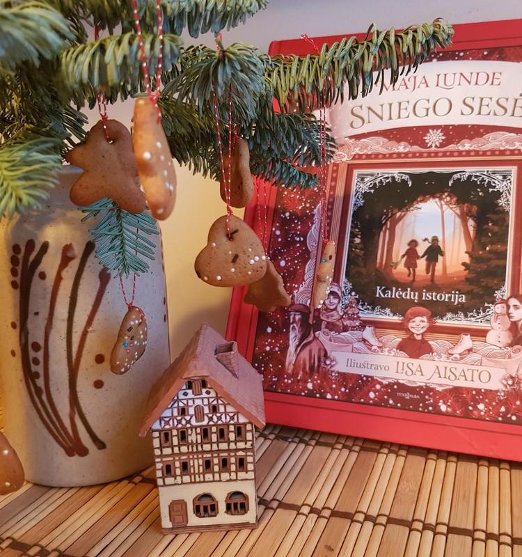 Maja Lundė knyga ''Sniego sesė''