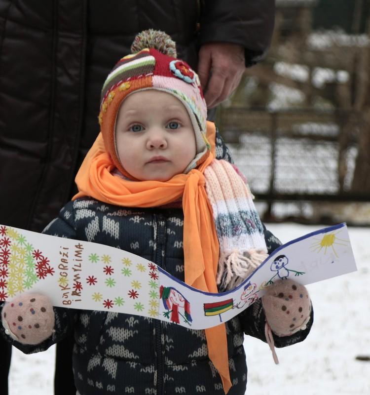 Apglėbdami savo darželį – apkabinome Lietuvą