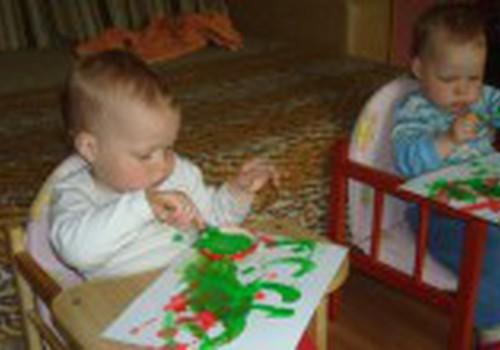 Piešiame guašu kartu su mažyliu
