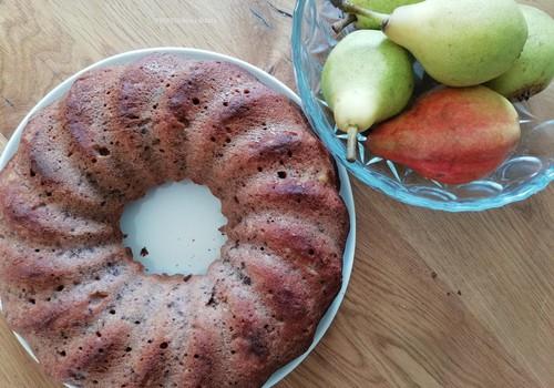 Kriaušių duona - pyragas