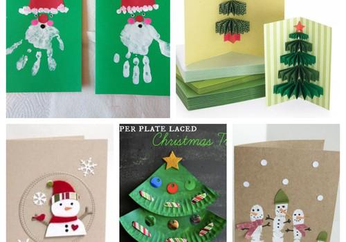 Kalėdinių atviručių idėjos: pasinerkime į kūrybą