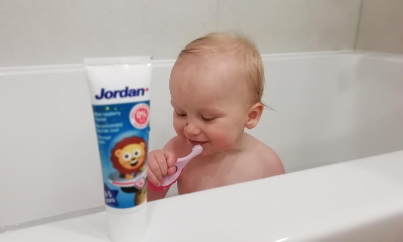 JORDAN dantukų priežiūros rinkinys mažiausiems