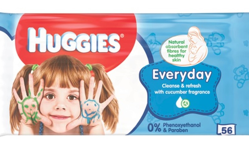 Pristatome naujo dizaino Huggies@ drėgnas servetėles!