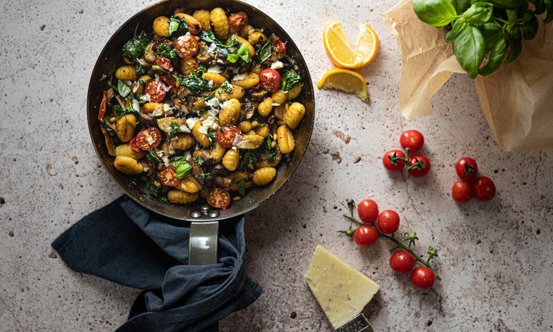 Italų klasika gnocchi – namuose: išbandykite rudenišką šio patiekalo receptą su moliūgais