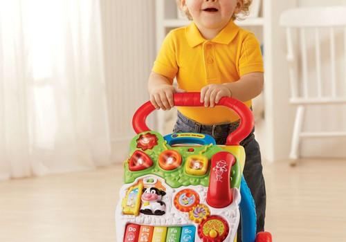 VTech stumdukas padės mažyliui žengti pirmuosius žingsnelius