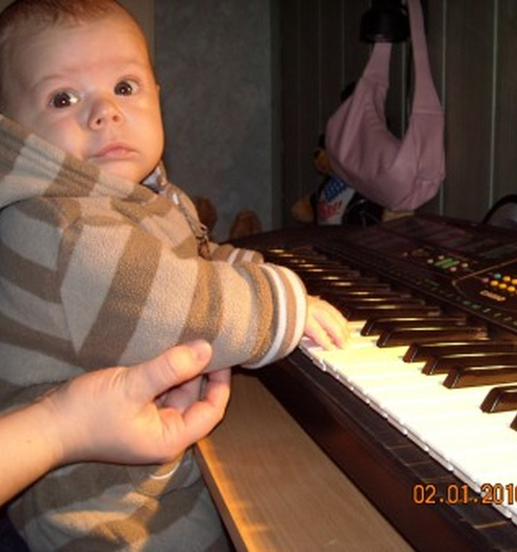 Su muzika - nuo pat gimimo