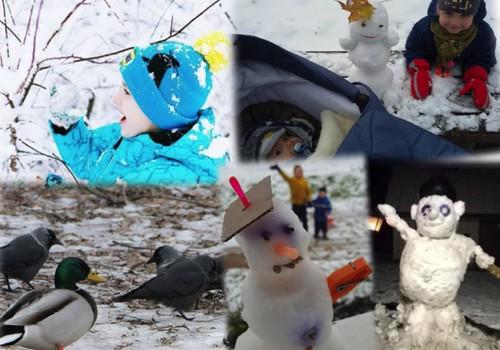 """Žiemiškos linksmybės + knygos """"Katinėlis Juodis. Krisk, sniegeli!"""" laimėjimas"""