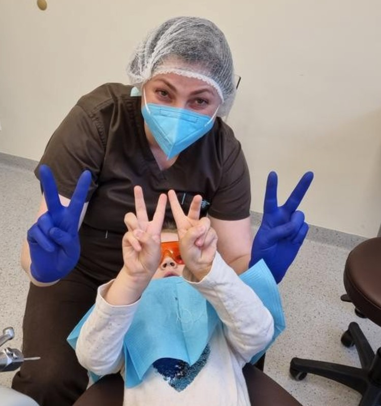 Odontologo kėdėje - linksmai :)