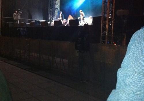Vilniuje muziklas Katedros aikštėje