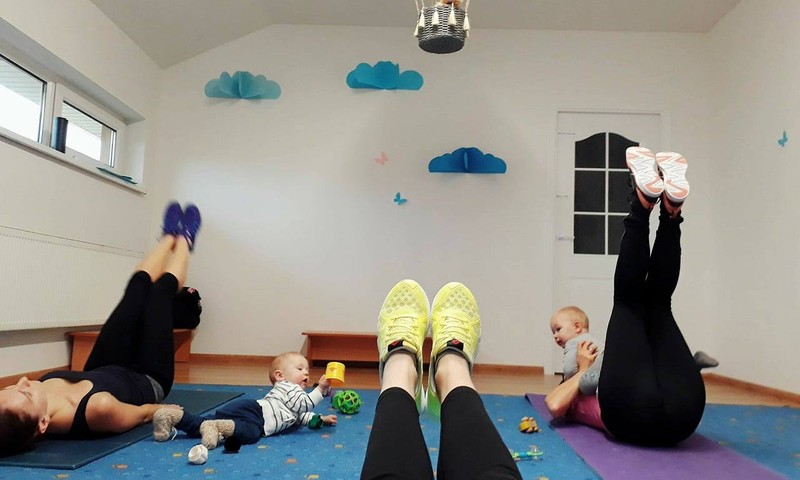 Ar įmanomas reguliarus sportas auginant mažylį? Aš sakau TAIP!